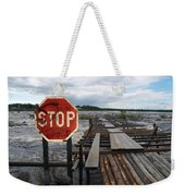 Fishermans Dock Weekender Tote Bag