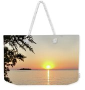 Fisherman's Island Sunset Weekender Tote Bag