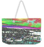 Fishermans Terminal 2 Weekender Tote Bag