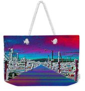 Fishermans Terminal Pier Weekender Tote Bag
