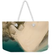 Fishermen On A Sand Bank On An Island Weekender Tote Bag