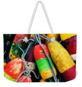 Fishermen's Floats Weekender Tote Bag