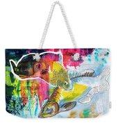 Fishes In Water, Original Painting Weekender Tote Bag