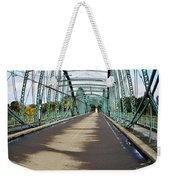 Fisheye South Washington St. Bridge Weekender Tote Bag