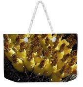 Fishhook Barrel Cactus Fruit Weekender Tote Bag