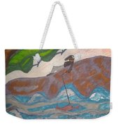 Fishing At The Cove Weekender Tote Bag