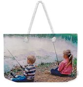Fishing At Watkins Mill Weekender Tote Bag