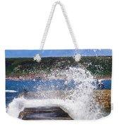 Fishing Beyond The Surf Weekender Tote Bag by Terri Waters