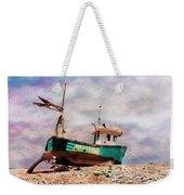 Fishing Boat At Aldeburgh Weekender Tote Bag