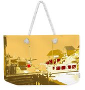 Fishing Boat At The Dock Weekender Tote Bag