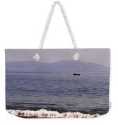 Fishing Boat On Ventry Harbor Ireland Weekender Tote Bag