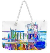 Fishing Boats 2 Weekender Tote Bag