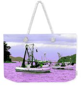 Fishing Boats At Pearl Beach 1.0 Weekender Tote Bag