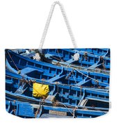 Fishing Boats In Morocco Weekender Tote Bag