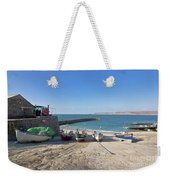 Fishing Boats In Sennen Cove Weekender Tote Bag