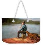 Fishing - Booze Hound 1922 Weekender Tote Bag