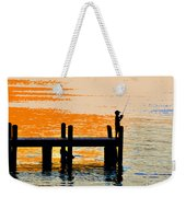 Fishing Boy Weekender Tote Bag