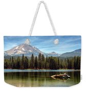 Fishing By Mount Lassen Weekender Tote Bag
