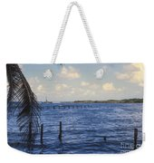 Fishing Cove Weekender Tote Bag