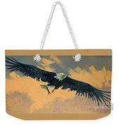 Fishing Eagle Weekender Tote Bag