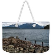 Fishing False Outer Point Weekender Tote Bag