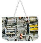 Fishing - Fishing Reels Weekender Tote Bag