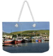 Fishing Fleet At Dingle, County Kerry, Ireland Weekender Tote Bag