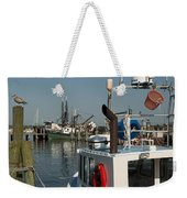 Fishing Fleet Weekender Tote Bag