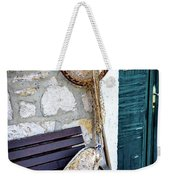 Fishing Gear In Primosten, Croatia Weekender Tote Bag