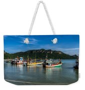Fishing Harbour Weekender Tote Bag