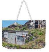 Fishing Huts Cape Cornwall Weekender Tote Bag