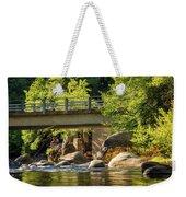 Fishing In Deer Creek Weekender Tote Bag