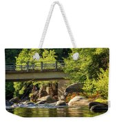 Fishing In Deer Creek Weekender Tote Bag by James Eddy