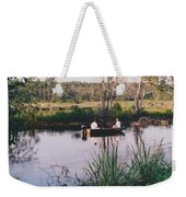 Fishing In The Bayou Weekender Tote Bag