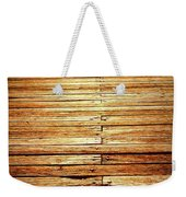 Fishing Into The Sunset Weekender Tote Bag