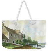 Fishing Lake Weekender Tote Bag