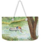 Fishing Lake Tanko Weekender Tote Bag