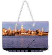 Fishing On The Hudson Weekender Tote Bag