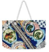 Fishing Over The Object Weekender Tote Bag