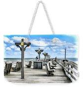 Fishing Pier 13 Weekender Tote Bag