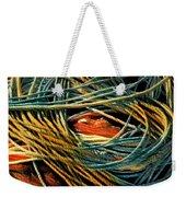 Fishing  Rope  Weekender Tote Bag by Colette V Hera Guggenheim