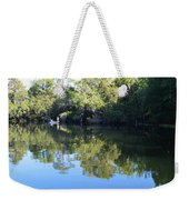 Fishing The Withlacoochee River. Weekender Tote Bag