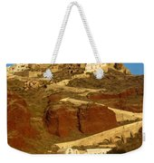 Fishing Town On A Hill Weekender Tote Bag