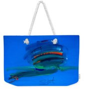 Fishing Trawler Hastings Stade Weekender Tote Bag