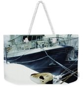 Fishing Trawler, Howth Harbour, Co Weekender Tote Bag