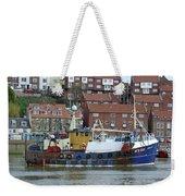 Fishing Trawler - Whitby Weekender Tote Bag