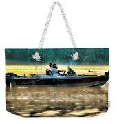 Fishing Trip Weekender Tote Bag