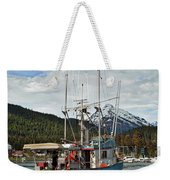 Fishing Vessel Chinak Weekender Tote Bag