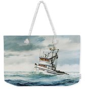 Fishing Vessel Devotion Weekender Tote Bag