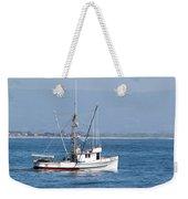 Fishing Vessel Sun Ra Weekender Tote Bag